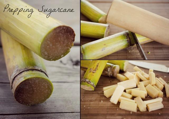 Prepping sugarcane