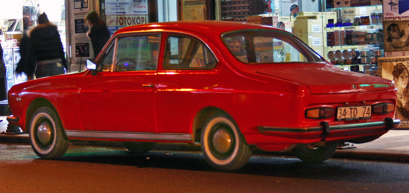 Anadol A1 MkII on Ankara Caddesi