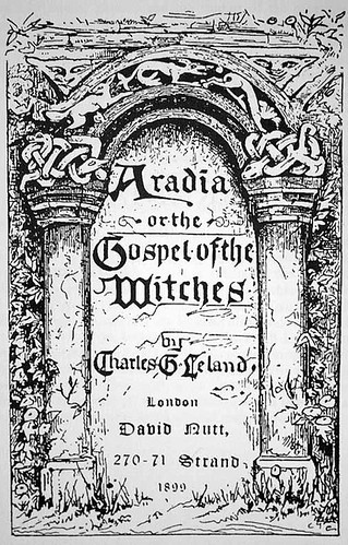 Aradia, or the Gospel of the Witches - cover