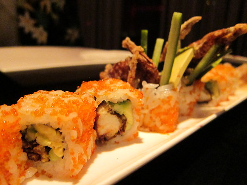 Crispy Soft Shell California Rolls