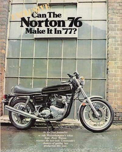 1976 Norton 850 Commando by motosanglaises