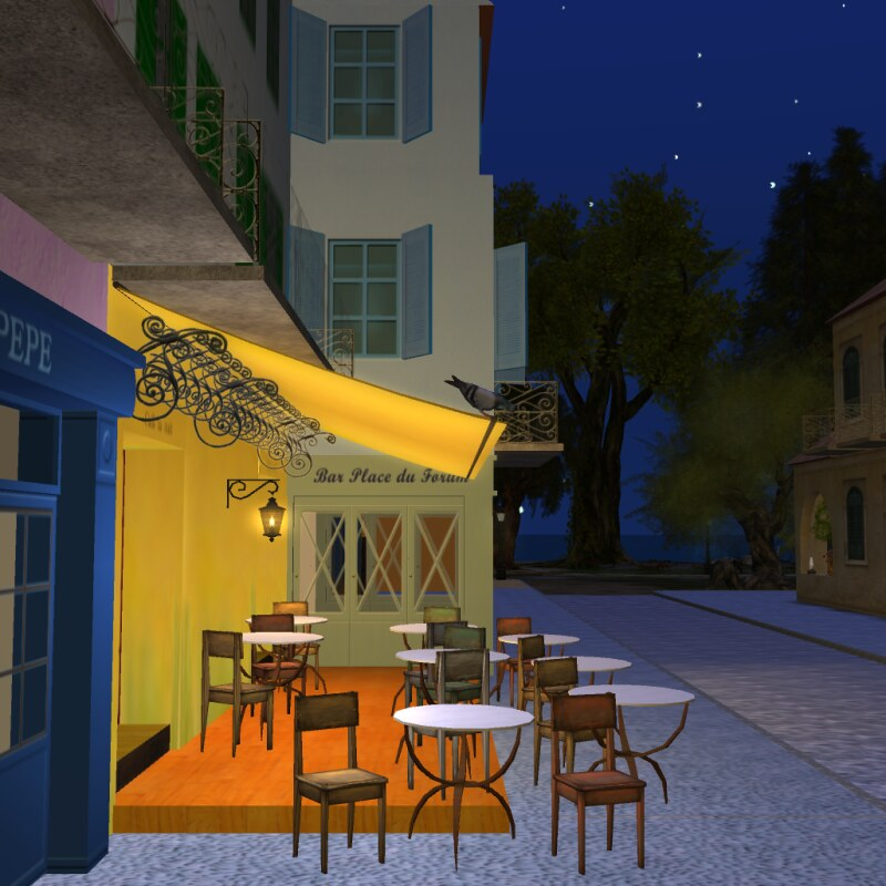 Van Gogh Village - Café Terrace at Night