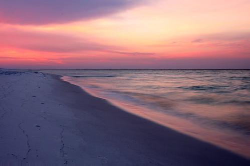 beach sunrise florida destin miramarbeach