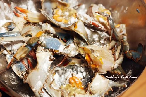 台式肉末快炒螃蟹 Crab with Minced Pork13