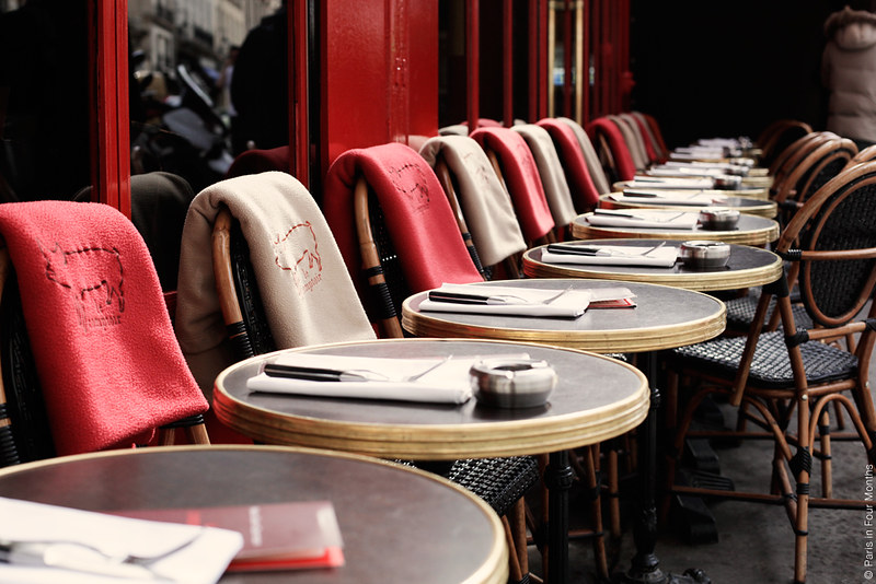 Restaurant Le Comptoir in Paris by Carin Olsson (Paris in Four Months)
