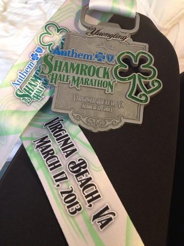 Shamrock Half Marathon adventure