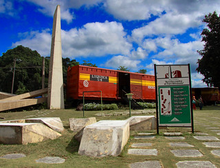 See one of Che Guevara's fighting zones at Monumento a la Toma del Tren Blindado  - Things to do in Santa Clara