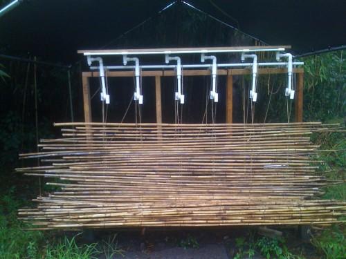 Jose Caraballo's Bamboo Loom