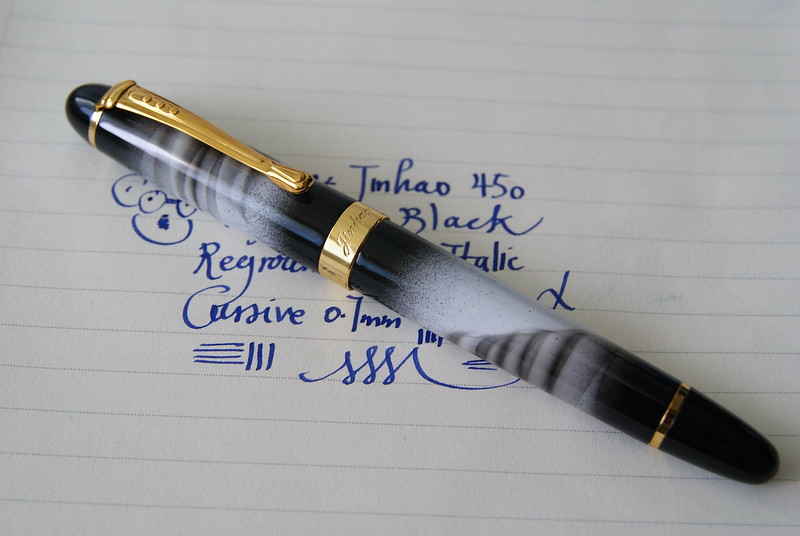 JINHAO 450 MISTY BLACK ITALIC CURSIVE 0.7MM