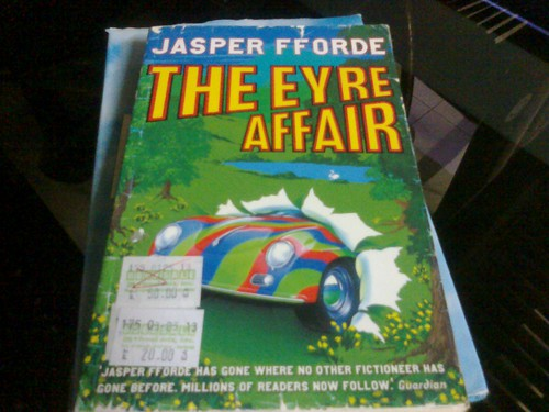 Jasper Fforde's The Eyre Affair (Php 20)