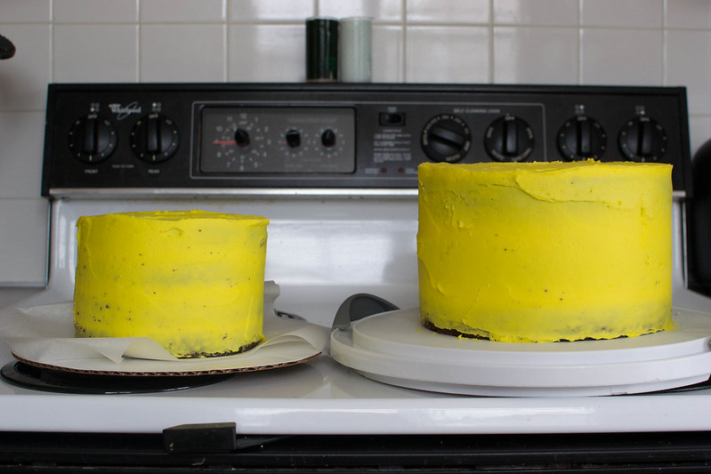 Curious George Train Cake