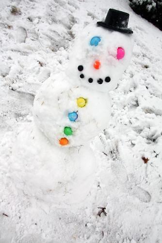 Sideways-snowman