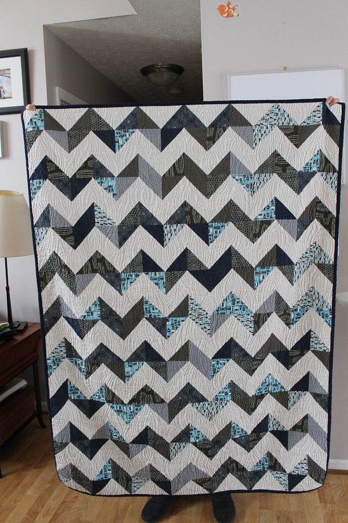 zigzag quilt for nick