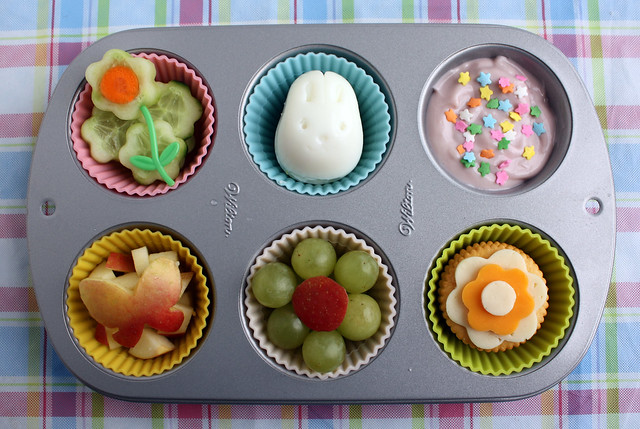 Spring Time Muffin Tin Meal