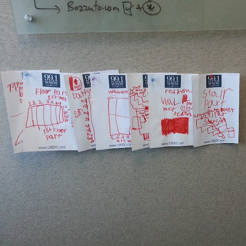 As promised my son delivered blue prints ;) helping me with my job @thebozzutogroup ;)