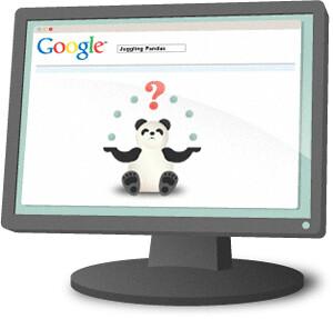 panda-on-computer