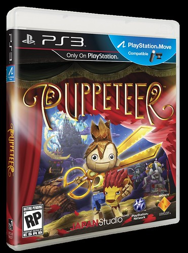 Puppeteer for PS3: Box Art US