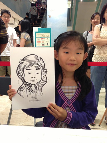 caricature live sketching for Takashimaya Good Friday Special - 21