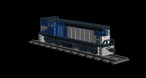 LDD MOC Queensland Rail 1400/1450 Class 8601174783_7510c0c53a