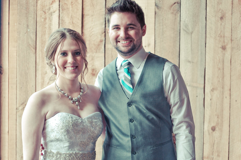 Ashley & Brian Tie The Knot!