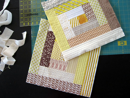 Tutorial Quilt As You Go Log Cabins Stitched In Color