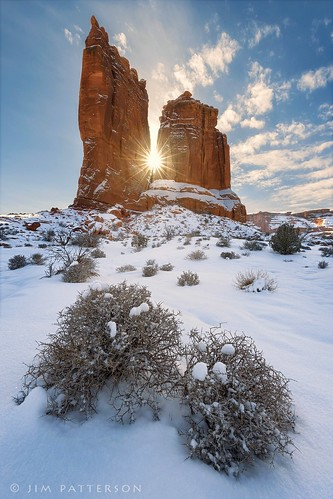 Winter's Spires - Arches National Park, Utah