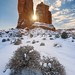 Winter's Spires - Arches National Park, Utah by Jim Patterson Photography