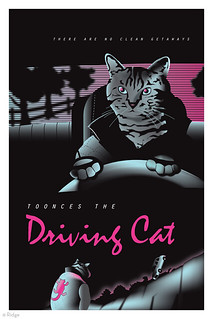 """Toonces the Driving Cat"""