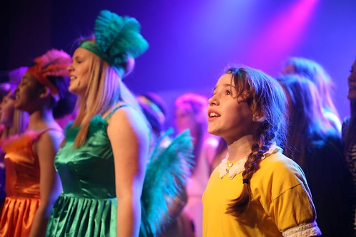 Tatiana Caiafas, Hayley Scott and Eve Thomas-Yates in FCT 2013 production of Seussical. Photo © Mark Gorman