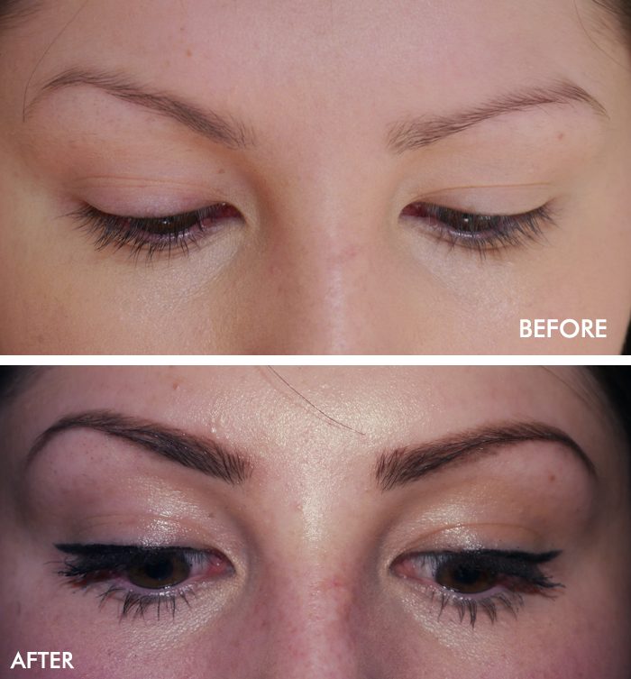 hd brows before and after review zen lifestyle spa 1
