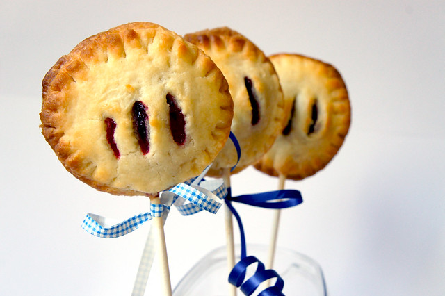 Himbeer Pie Pops