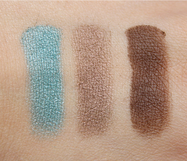 pürminerals free spirit perfect fit eye shadow trio swatch