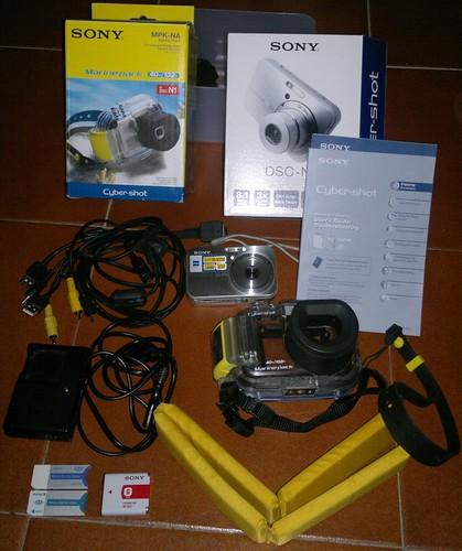 Vendo camara Sony DSC N1 Completa y kit completo para Kayak 8635008238_4c0a04a7a9