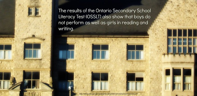Boys not doing as well on OSSLT