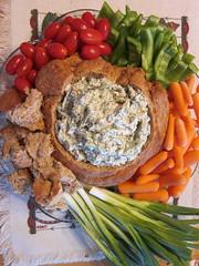breakfast, vegetable, dip, food, dish, cuisine,