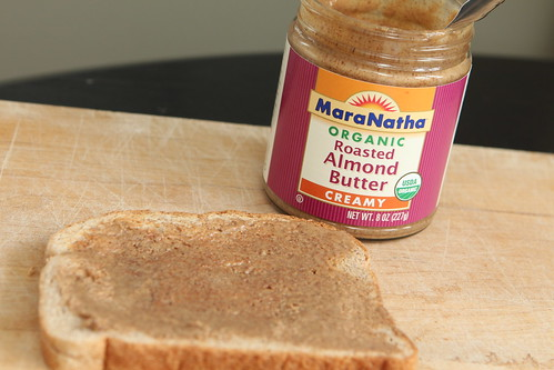 Whole Wheat Toast with Almond Butter
