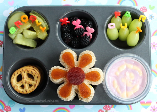 Muffin Tin Monday - the groovy 60s lunch
