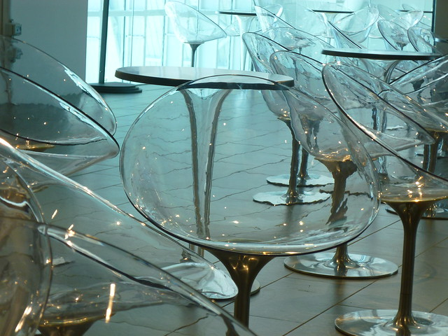 chairs like glass