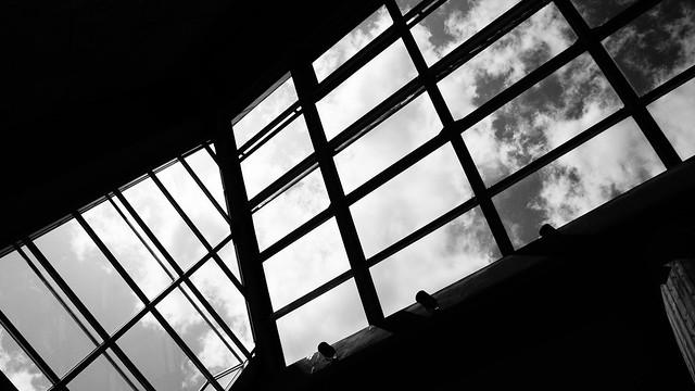 Skyview from window
