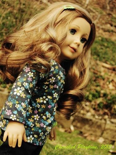 Nicki on a Spring Evening