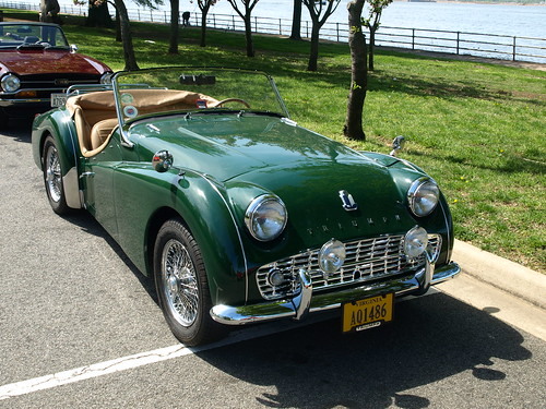British Racing Green TR3