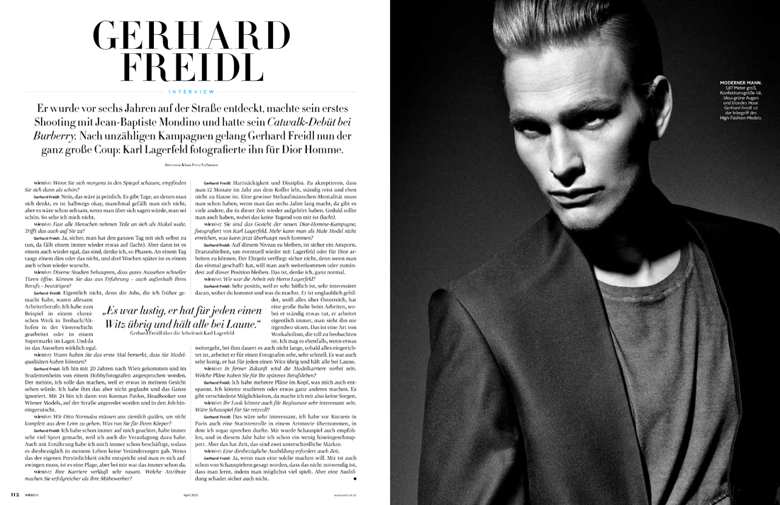 Gerhard Freidl0396_WIEN LIVE Magazine April 2013( Wiener Models Blog)