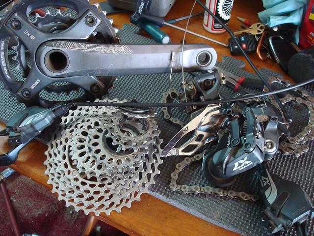 SRAM x7 2x10 mtnbikeriders.com