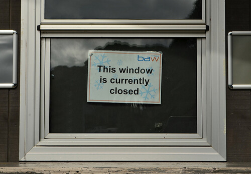 This Window is Closed
