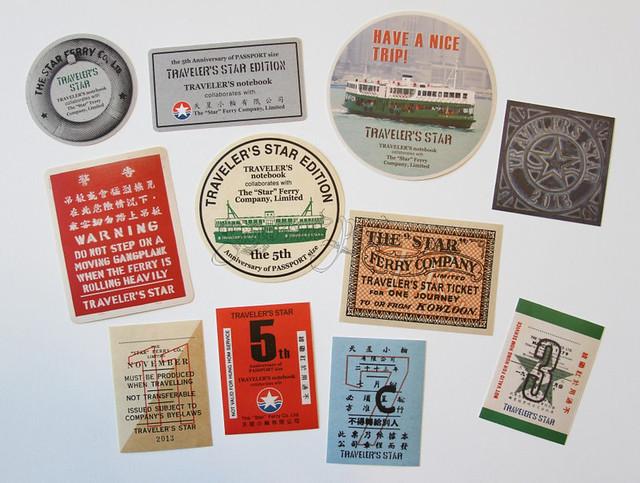 Midori Star TN Stickers