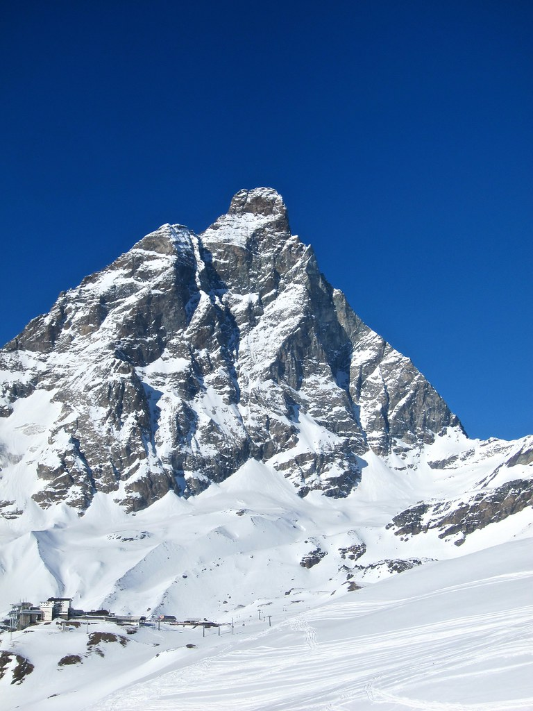 Skiing Cervinia