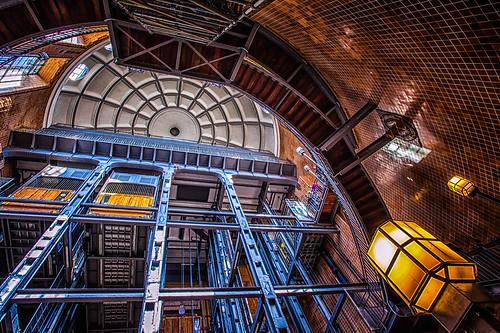 canon germany eingang hamburg elevator entrance stpauli elbe aufzug alterelbtunnel canon1740f4l oldelbetunnel