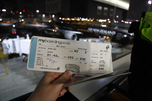 Boarding Pass to New Zealand