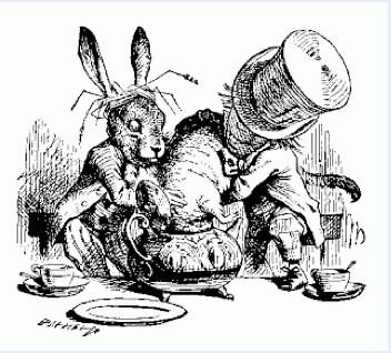 dormouse in teapot