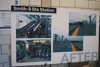 Image of Ninth Street Station. newyorkcity brooklyn subway mta gothamist elevated renovation redhook reopening ind rapidtransit smith–ninthstreets